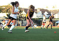 San Diego CA, USA.  22, Oct 2014:  Mission Bay High School Field Hockey