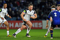 Max Lahiff of Bath Rugby goes on the attack. European Rugby Champions Cup match, between Leinster Rugby and Bath Rugby on January 16, 2016 at the RDS Arena in Dublin, Republic of Ireland. Photo by: Patrick Khachfe / Onside Images