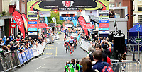 Picture by Alex Whitehead/SWpix.com 11/05/2017 - Cycling - Tour Series Round 2 - Matrix Fitness Womens Race Stoke, Stoke-on-Trent, England - Team WMT's Katie Archibald takes the win at the Tour Series Matrix Fitness Womens Race in Stoke.