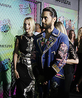 NEW YORK, NY-August 01`: Margot Robbie, Jared Leto at Warner Bros. Pictures & DC, Atlas Entertainment  presents the World Premiere of Suicide Squad  at the Beacon Theatre in New York. NY August 01, 2016. Credit:RW/MediaPunch