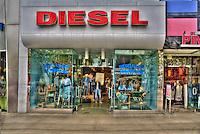 Diesel, Clothing Store, Third Street Promenade, Downtown,  Santa Monica, CA,