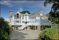 BNPS.co.uk (01202 558833)<br /> Pic: Lloyds/BNPS<br /> <br /> Tides - Yours for &pound;7.3 million.<br /> <br /> Humble origins of one of Britain's most exclusive addresses.<br /> <br /> A new book reveals how the millionaire's row of Sandbanks went from being a windswept wasteland to one of the most sought-after addresses in the world has been published. <br /> <br /> Today the harbour-front plots on the exclusive enclave in Poole, Dorset, are crammed with &pound;10m mansions and luxury flats while Ferraris and Bentleys parade its tree-lined streets.<br /> <br /> But you only have to go back the relatively short period of 100 years to see that Sandbanks - or Parkstone-on-Sea as it was known - was once a deserted landscape cut off from the rest of the country.