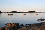 Sunset in Bar Harbor Maine
