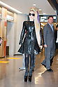 May 8, 2012, Chiba, Japan - US singer Lady Gaga arrives at Narita International Airport. Lady Gaga will participate in three live concerts in Tokyo from May 10-13 as part of her 'Born This Way Ball' tour. (Photo by Christopher Jue/Nippon News)