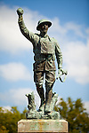 The Spirit of the American Doughboy statue by E. M. Visquesney, in Helena, Arkansas is on the National Register of Historic Places.