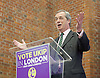 UKIP launch London Manifesto 2016 <br /> with Candidates for mayor and the London Assembly <br /> at the Emmanuel Centre, London, Great Britain <br /> 19th April 2016 <br /> <br /> Nigel Farage <br /> Leader of UKIP <br /> <br /> <br /> <br /> Photograph by Elliott Franks <br /> Image licensed to Elliott Franks Photography Services