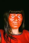 Kamayurá portrait, Upper Xingu region, Brazil