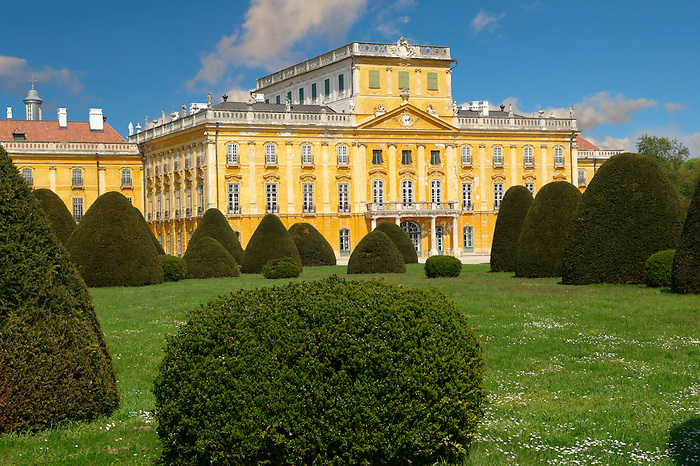 Picture of the Baroque Fertod Palace built in 1760's by Nikolaus Esterhazy, Hungary photos