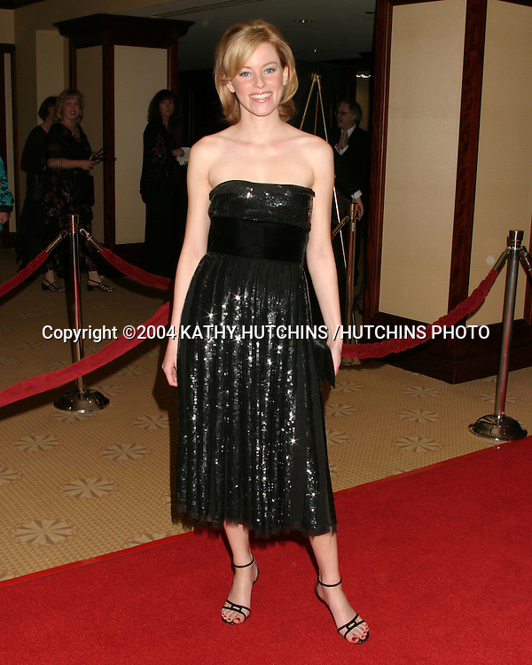 ©2003 KATHY HUTCHINS /HUTCHINS PHOTO.WRITERS GUILD OF AMERICA.AWARDS CEREMONY.CENTURY CITY,CA.FEBRUARY 21, 2004..ELIZABETH BANKS