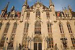 Provincial Palace, Market Place, Bruges, Belgium, Europe