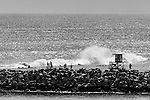 Wedge Waves, Balboa Peninsula, CA.