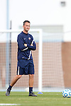 16 November 2013: Liberty assistant coach Adam Godwin. The University of North Carolina Tar Heels hosted the Liberty University Flames at Fetzer Field in Chapel Hill, NC in a 2013 NCAA Division I Women's Soccer Tournament First Round match. North Carolina won the game 4-0.
