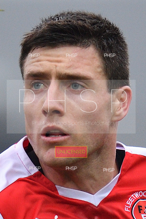 11/03/2017 Sky Bet League 1 Fleetwood Town v Bolton Wanderers<br /> <br /> Bobby Grant, Fleetwood Town FC