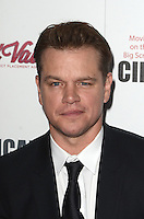 BEVERLY HILLS, CA - OCTOBER 14: Matt Damon at the 30th Annual American Cinematheque Awards Gala at The Beverly Hilton Hotel on October 14, 2016 in Beverly Hills, California. Credit: David Edwards/MediaPunch