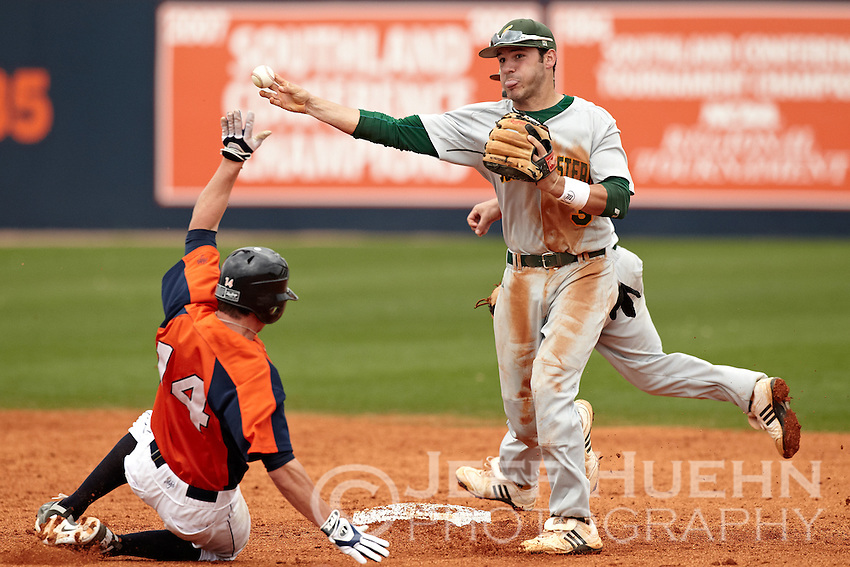 SAN ANTONIO, TX - MARCH 13, 2011: The Southeastern Louisiana University Lions vs. the University of Texas at San Antonio Roadrunners at Roadrunner Field. (Photo by Jeff Huehn)