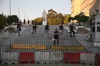 Atene, polizia nei pressi del parlamento
