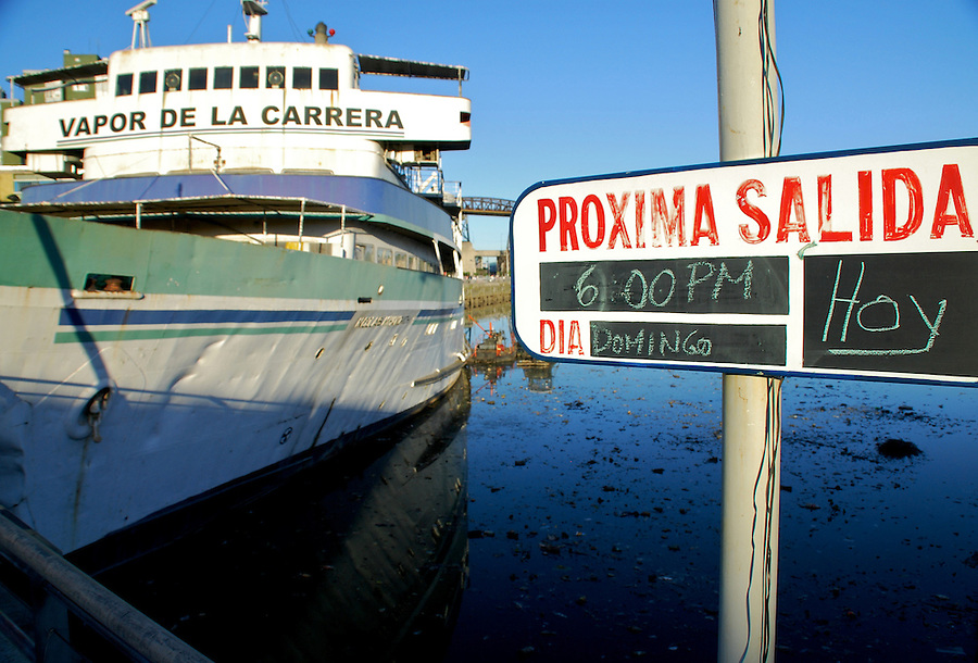 "Vapor de la Carrera is docked the Popular ""Barrio de la Boca"" in Buenos Aires, Argenitna, a Restaurant is now in operation there. In the old days connected Buenos Aires with Montevideo in Uruguay"