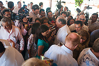 Special event in Boca Chica Hotel with the Governer of Acapulco, Carlos Slim and other VIPs. Acapulco, Guerrero, Mexico