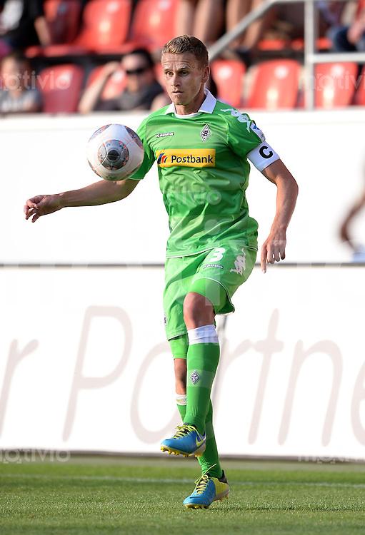 FUSSBALL  1. Bundesliga   2013/2014   Testspiel  FC Ingolstadt 04 - Borussia Moenchengladbach    13.07.2013 Filip Daems (Borussia Moenchengladbach)  am Ball