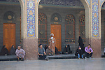 Sayyidah Zaynab mosque Damascus<br /> <br /> The Sayyidah Zaynab mosque is one of the holiest sites of the Shia Muslim faith.<br /> <br /> It is believed to be the burial place of Zaynab-ul-Sugra, granddaughter of the prophet Mohammed. Shia Muslims come from all over the Middle East, and particularly from Iran, to visit the mausoleum.