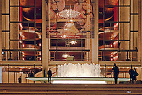 The Metropolitan Opera House at Lincoln Center for the Performing Arts, seen from Lincoln Center Plaza, New York City, New York, designed by Diller Scofidio + Renfro