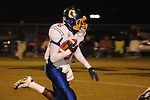 Oxford High's Stan Ivy (6) runs vs. New Hope in New Hope, Miss. on Friday, September 30, 2011. New Hope won 43-22.