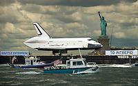 Space Shuttle Enterprise - New York
