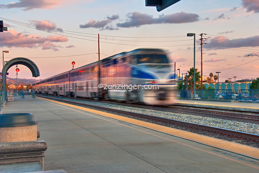Bob Hope Airport Train Station is an unstaffed Amtrak and Metrolink rail station at Bob Hope Airport in the city of Burbank, California