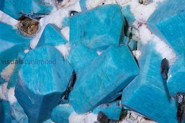 Microcline crystals on Albite, Colorado, USA.