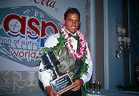 Kelly Slater (USA) won his fourth World Professional Surfing Title in 1996. Photo: joliphotos.com