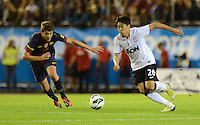 FUSSBALL  INTERNATIONAL Testspiel 2012/2013  08.08.2012 Manchester United  - FC Barcelona  Shinji Kagawa (re, Manchester United FC) gegen Sergi Roberto (Barca)