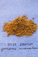 Asie/Inde/Maharashtra/Bombay : Les épices dans la cuisine indienne - Garam marsala