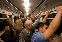 RUSSIA - Russland - MOSCOW, MOSKAU; METRO, public transport;      &copy; Christian Jungeblodt