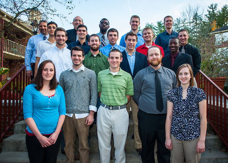 Robe Leadership Class Portraits at Ohio University Inn on Tuesday, October 23, 2012.