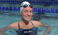 Senior swimmer Madeleine Stanton hails from Texas and is looking to get back home for the NCAA Championships held at Texas A&M later this year. Stanton has worked through.parts of her career in which everything from her swim stroke to outside forces were not clicking. Now, in her senior season, things are finally starting to come together.