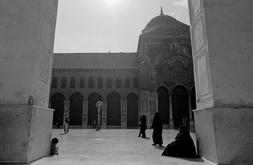 Umayyad Mosque, Damascus, Syria, November 2008. Photo: Ed Giles.