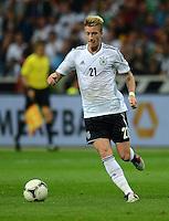 FUSSBALL Nationalmannschaft Freundschaftsspiel:  Deutschland - Argentinien             15.08.2012 Marco Reus (Deutschland)