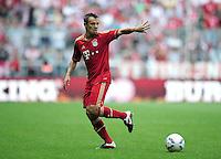 FUSSBALL   1. BUNDESLIGA  SAISON 2011/2012   3. Spieltag FC Bayern Muenchen - Hamburger SV           20.08.2011 Rafinha (FC Bayern Muenchen)