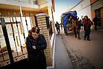 Voluntarios de greenpeace se manifiestan en Villar de Ca&ntilde;as, en Cuenca contra la posible construcci&oacute;n de un almacen de residuos nucleares, ATC el domingo 12 de febrero 2012. <br /> Greenpeace volunteers are manifested against the possible construction of a nuclear waste storage, in Villar de Ca&ntilde;as, near Cuenca, on February  12, 2012.(c) GREENPEACE HANDOUT/PEDRO ARMESTRE- NO SALES - NO ARCHIVES - EDITORIAL USE ONLY - FREE USE ONLY FOR 14 DAYS AFTER RELEASE - PHOTO PROVIDED BY GREENPEACE - AP PROVIDES ACCESS TO THIS PUBLICLY DISTRIBUTED HANDOUT PHOTO TO BE USED ONLY TO ILLUSTRATE NEWS REPORTING OR COMMENTARY ON THE FACTS OR EVENTS DEPICTED IN THIS IMAGE<br /> (C) Greenpeace Handout / PEDRO ARMESTRE-NO VENTAS - NO ARCHIVOS - uso editorial - USO LIBRE SOLO PARA 14 D&Iacute;AS DESPU&Eacute;S DE PRENSA - Foto proporcionada por Greenpeace - AP proporciona acceso a esta Cortes&iacute;a distribuido al p&uacute;blico A UTILIZAR s&oacute;lo para ilustrar INFORMES NOTICIAS o comentario sobre los hechos o acontecimientos que aparecen en este IMAGEN