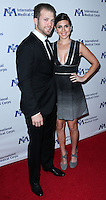 BEVERLY HILLS, CA, USA - OCTOBER 23: Cutter Dykstra, Jamie-Lynn Sigler arrive at the 2014 International Medical Corps' Annual Awards Dinner Ceremony held at the Beverly Wilshire Four Seasons Hotel on October 23, 2014 in Beverly Hills, California, United States. (Photo by Xavier Collin/Celebrity Monitor)