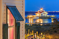 Roanoke Island inn and Lighthouse in Manteo, NC.