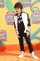 Cameron Ocasio<br /> at Nickelodeon's 27th Annual Kids' Choice Awards, USC Galen Center, Los Angeles, CA 03-29-14<br /> David Edwards/DailyCeleb.Com 818-249-4998