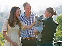 Kate, Duchess of Cambridge & Prince William visit Taronga zoo in Sidney - Australia