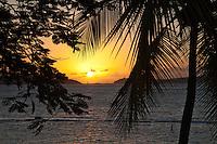 Sunset from Gallows Point Resort<br /> Cruz Bay, St. John<br /> U.S. Virgin Islands