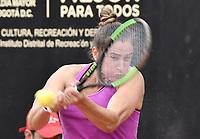 BOGOTA -COLOMBIA. 14-04-2017. Sara Sorribes Tormo (ESP) durante juego de semifinal contra Lara Arruabarrena Sara Sorribes Tormo (ESP) del Claro Open Colsanitas WTA 2017 jugado en el Club Los Lagartos en Bogota. /  Sara Sorribes Tormo (ESP) during match against Lara Arruabarrena (ESP) for the semifinal of Claro Open Colsanitas WTA 2017 played at Club Los Lagartos in Bogota city. Photo: VizzorImage/ Gabriel Aponte / Staff