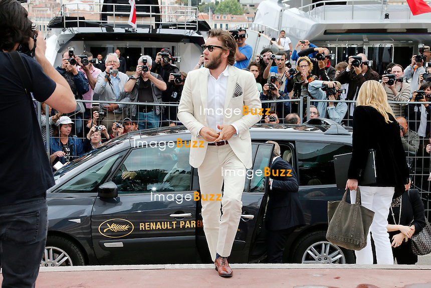 CPE/May 15, 2013-Cannes (FR)-Actor Joel Edgerton arrives at Palais Des Festivals for 'The Great Gatsby' photocall.