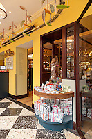 Rococo Chocolates Shop, Chester, England. Located within Grosvenor Hotel. Architect: Mark Prizeman