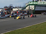 1987, Mallory Park.<br /> The Owen Brown RAC round saw plenty of controversy as Van Diemen's Eddie Irvine completed around 50 yards in the race, you can see his works RF87 in the fence, Amity Racing's Antonio Simoes won on the road but was excluded for his part in the startline incident. Andy Stapley in his Ray 87F follows Simoes.