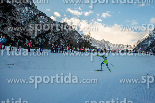 Anamarija Lampic of Slovenia during Ladies 1.2 km Free Sprint Qualification race at FIS Cross Country World Cup Planica 2016, on January 16, 2016 at Planica, Slovenia. Photo By Grega Valancic / Sportida