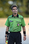 17 September 2015: Assistant Referee Javier Rodriguez. The Duke University Blue Devils hosted the Appalachian State University Mountaineers at Koskinen Stadium in Durham, NC in a 2015 NCAA Division I Women's Soccer match. Duke won the game 6-0.